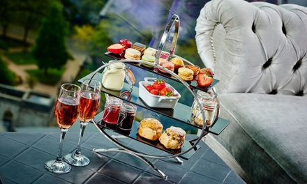 Afternoon Tea with Champagne or Bellini for Two or Four at Marco Pierre White Steakhouse Bar & Grill