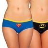 Undergirl X DC Comics Women's Graphic Panties (3-Pack)