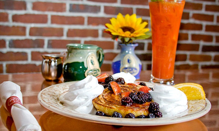 Another Broken Egg Cafe - Huntsville: American Breakfast, Brunch, or Lunch at Another Broken Egg Cafe (Up to 52% Off). Two Options Available.