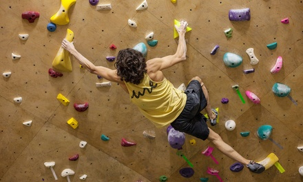 Bouldering at Steep Rock Bouldering (Up to 64% Off). Five Options Available.