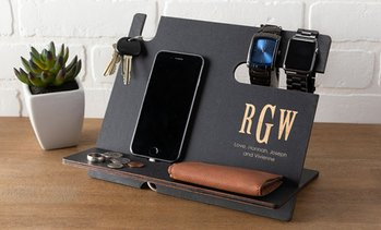 Up to 52% Off Personalized Phone Charging Organization Station