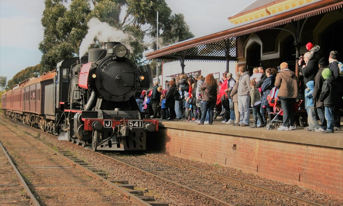 Victorian Goldfields Railway - Castlemaine, Victoria | Groupon