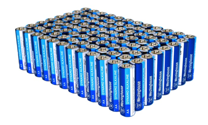 Up To 55% Off on Alkaline Batteries (96-Pack) | Groupon Goods