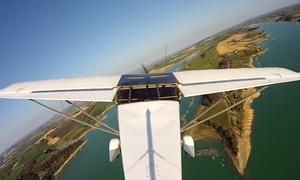 Air Light Toulouse: 30 min de vol en ULM ''sensation adrénaline'' avec Vidéo HD à 69 € avec Air Light Toulouse