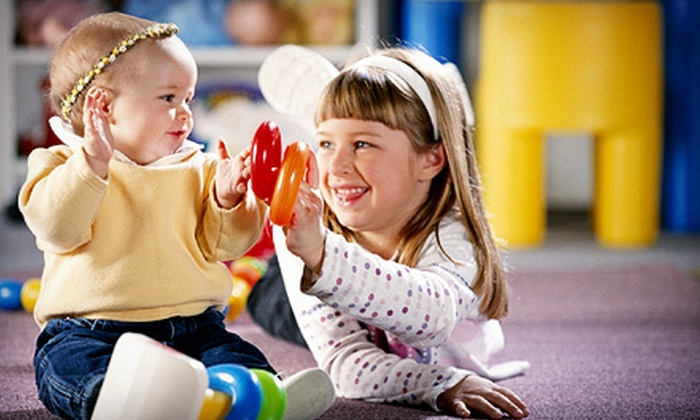 Thinkertots - Multiple Locations: One or Two Months of Unlimited Kids' Educational Classes or 10-Week Mommy and Me Class at Thinkertots (Up to 81% Off)