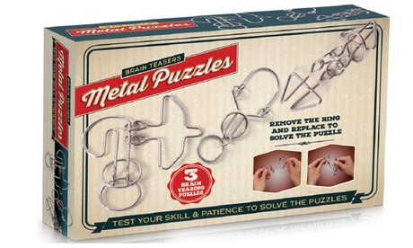 Brain Teasers Metal Puzzles (3-Pack) 5e44bbd0-e4ea-11e6-a444-002590604002