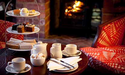 image for 4* Afternoon Tea for Two or Four at Mercure Letchworth Hall Hotel (Up to 47% Off)
