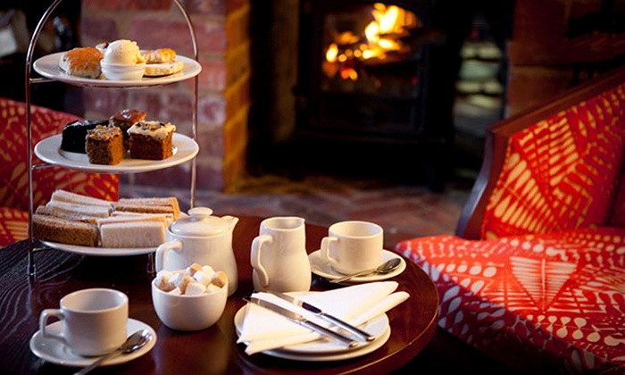 Mercure Letchworth Hall Hotel - Hertfordshire: 4* Afternoon Tea for Two or Four at Mercure Letchworth Hall Hotel (Up to 47% Off)