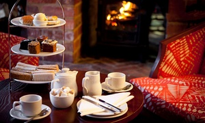 Mercure Letchworth Hall Hotel: 4* Afternoon Tea for Two or Four at Mercure Letchworth Hall Hotel (Up to 47% Off)
