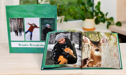 .95 for a Personalised Softcover or Hardcover Photobook Don't Pay up to $254.95