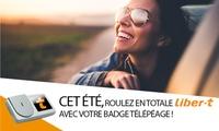 Télépéage : gagnez du temps aux barrières de péage avec le badge Liber-t Easytrip à 6 € (63% de réduction)