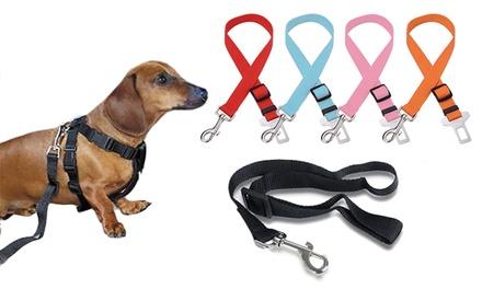1x oder 2x Hundeleinenanschnallbefestigung in der Farbe nach Wahl