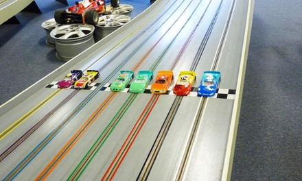 One-Hour of Slot-Car Racing for Two on Recreational or Expert Track at Elmsford Raceway (50% Off)