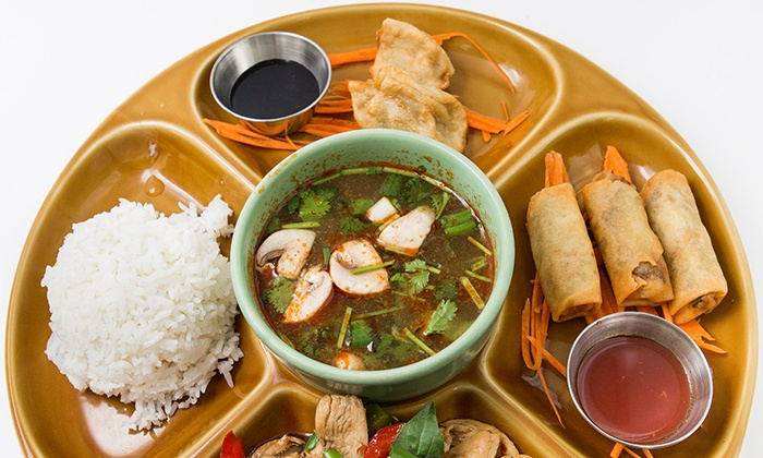 Dok Bua Thai Kitchen - Coolidge Corner: $20 for $30 Worth of Thai Food for Lunch or Dinner at Dok Bua Thai Kitchen