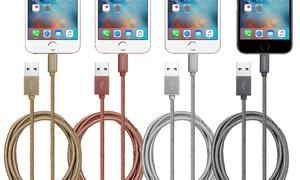 Câble tressé certifie MFI Apple