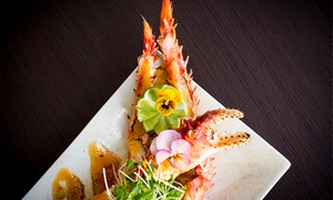 Riverside Teppanyaki by Kobe Jones: From $69 for Nine-Course Poke Crab and Wagyu Feast at Riverside Teppanyaki by Kobe Jones (From $150 Value)