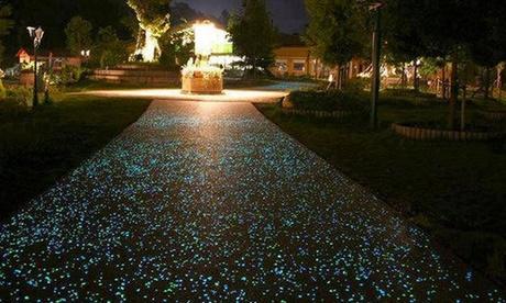 Pack de 100, 200 o 300 piedras luminosas fluorescentes