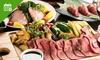 2,500円/名|肉寿司・ローストビーフ(お替り可)など9品+飲み放題180分