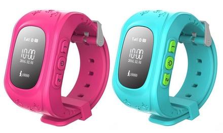Smartwatch infantil con localizador GPS y pantalla LED