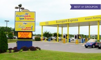 GROUPON: Up to 37% Off Airport Parking with Shuttle Service Econopark Express.com