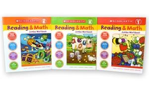 Scholastic Reading and Math Jumbo Workbooks