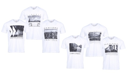 Pack 3 t-shirts City Summer