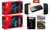 Nintendo Switch w/ Carrying Case and Fortnite Darkfire or Minecraft