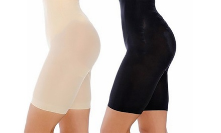 Panty gainant et modelant taille haute