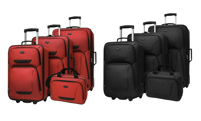 Traveler's Choice 4-Piece St. Michelle Luggage Sets: Traveler's Choice 4-Piece St. Michelle Luggage Sets. Multiple Colors Available. Free Returns.