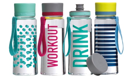 Premier Housewares 650ml Water Bottle in Choice of Design