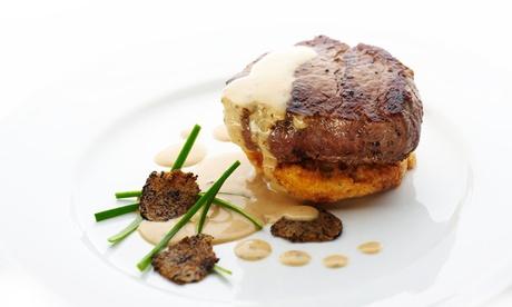 Menu di pesce o di carne con tartufo da 4 portate e bottiglia di vino al Ristorante Bellini (sconto fino