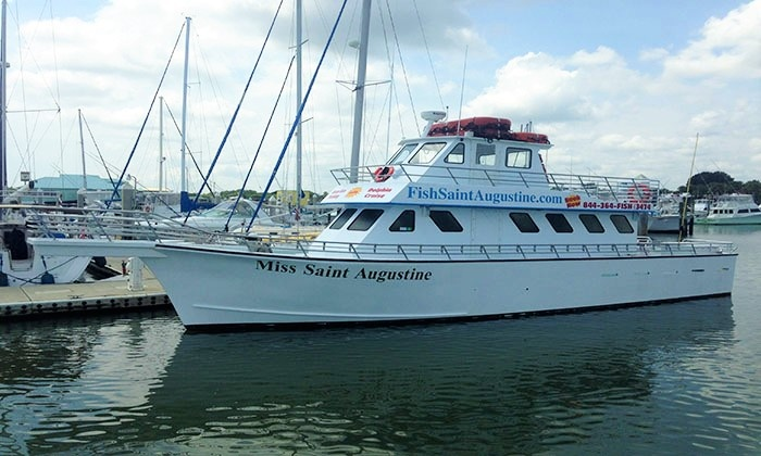 Fish Saint Augustine - The Conch House Marina: Half- or Full-Day Fishing Charters from Fish Saint Augustine (Up to 57% Off). Four Options Available.