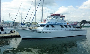 Fish Saint Augustine: Half- or Full-Day Fishing Charters from Fish Saint Augustine (Up to 57% Off). Four Options Available.