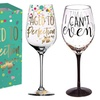 Expressive Wording 12-Oz Wine Glass with Box