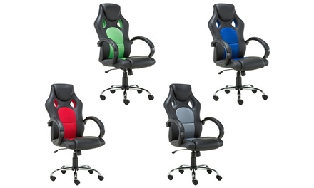 Prix Racing-Style Office Chair for £69.98 With Free Delivery (53% Off)