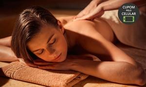 Semear Vida: Semear Vida - Funcionários: 1, 2 ou 3 visitas de shiatsu + massagem relaxante
