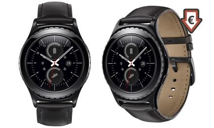 Smartwatch Samsung Gear S2 Classic, zwart met 24 maanden garantie