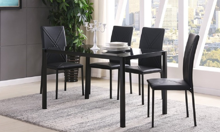 Zena Dining Set with Four or Six Chairs