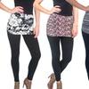 Two-In-One Skirt Leggings