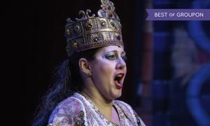 """Highlight Concerts: Open-Air-Oper """"Nabucco"""" von Giuseppe Verdi im August 2017 in Bochum, Dresden, Magdeburg, Schwerin, Zwickau (41% sparen)"""