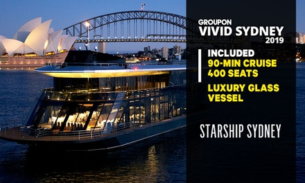 $36 for 90-Minute Vivid Cruise with Starship Sydney, 24 May - 15 June