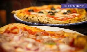 """QGina: """"La Vera Napoletana""""-Pizza-Menü für 2 oder 4 Personen im QGina (bis zu 59% sparen*)"""