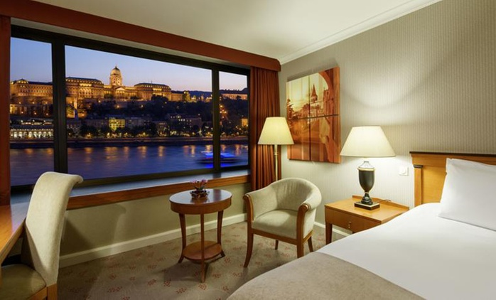✈ Budapest: 2, 3 or 4 Nights at InterContinental Budapest with Spa Access and Return Flights; Option for River Cruise*