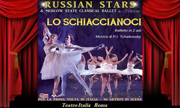 Russian Stars in Lo Schiaccianoci - Il 30 e 31 gennaio al Teatro Italia di Roma