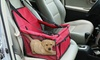 Foldable Dog Booster Car Seat