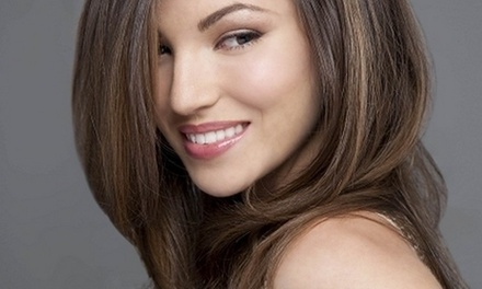 Haircut with Shampoo and Style from La Rouge (55% Off)