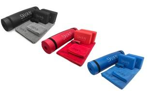 Sivan Health and Fitness Yoga Mat Bundle