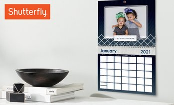 Up to 85% Off Personalized Wall Calendars from Shutterfly
