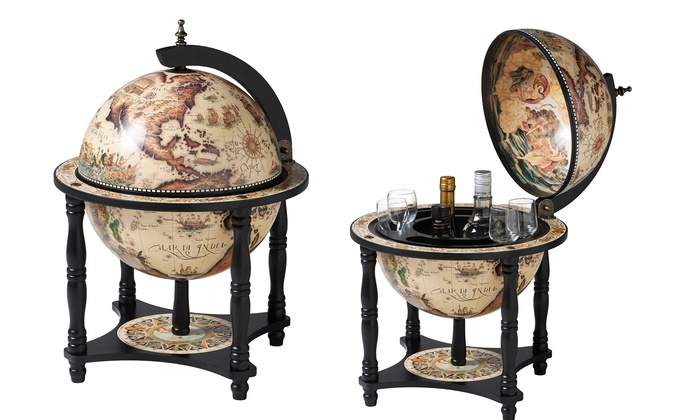groupon goods global gmbh bar globe in choice of design with free delivery