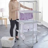 Three-Tier Heated Tower Airer